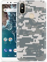 Xiaomi Mi A2 Hoesje Army Digi Camouflage