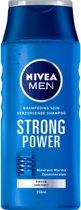 VOORDEEL  3 stuks Nivea Men Strong Power Shampoo 250ml