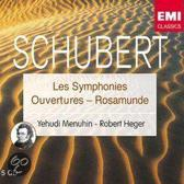 Yehudi Menuhin - Schubert: Les Symphonies, Ouvertures Rosamunde