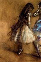 ''two Dancers'' by Edgar Degas