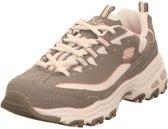 Skechers D'Lites - Biggest fan grijs wit sneakers dames (11930 GYW)