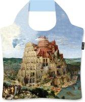 """Ecozz 100% rPet Ecoshopper """"Toren van Babel"""" P Brueghel de Oude"""