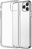 iPhone 11 Pro Siliconen Hoesje Back Shock Cover Hoes TPU Case Friendly