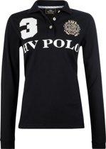 HV Polo Favouritas Eques LS - Polo Shirt - Black - L