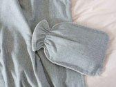 Yumeko Flanellen kruikzak grey