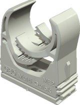 OBO kabelbuisklem Multi-Quick, kunstst, grijs, v/buisdiam 16 - 20mm