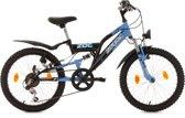 Ks Cycling Fiets 20'' kinderfiets Zodiac van KS Cycling, zwart-blauw, FH 31 cm - 31 cm