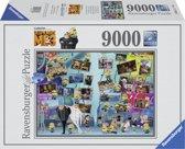 Ravensburger puzzel Despicable Me 3 Grappige Minions - legpuzzel - 9000 stukjes