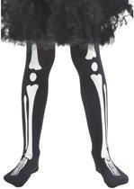 Skelet legging voor kinderen - Verkleedattribuut