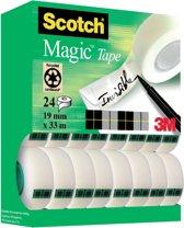 SCOTCH MAGIC TAPE 19MMX33M 24X