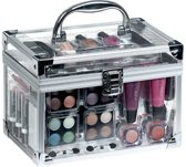 Briconti Make-up koffer Transparant 42-delig make-up koffer