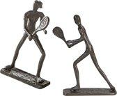 Sculptuurtje tennisspelers