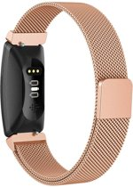 YONO Milanees bandje - Fitbit Inspire (HR) - Rose Gold - Small