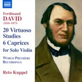20 Virtuoso Studies For Solo Violin Op 70