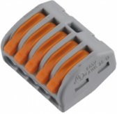 Elektrofix lasklem 5-voudig hersluitsluitbaar 10 st