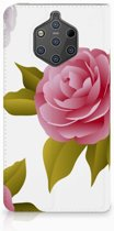 Nokia 9 PureView Uniek Standcase Hoesje Roses