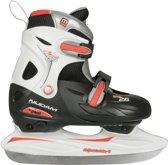 Nijdam 0026 Junior IJshockeyschaats - Verstelbaar - Hardboot - Maat 27-30
