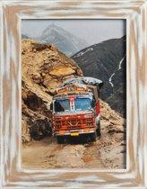 Henzo India Fotolijst - Fotomaat 30x40 cm - Wit