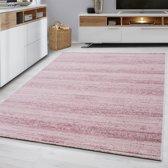 Plus - Vloerkleed - Roze - 80 x 300 cm