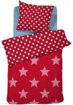Damai Starville kinder dekbedovertrek - Red - Junior (120x150 cm + 1 sloop)