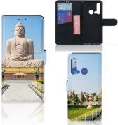 Huawei P20 Lite (2019) Flip Cover Boeddha
