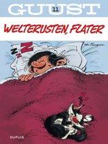 Guust Flater 11. Welterusten, Flater