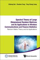 Spectral Theory of Large Dimensional Random Matrices and Its Applications to Wireless Communications and Finance Statistics
