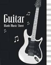 Blank Music Sheet Guitar