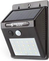 20 LEDs Buitenlamp draadloze waterdichte lamp bewegingssensor Solar licht voor tuin Tuinverlichting - Wandlamp | Solar buitenverlichting wit licht ewegingssensor - Zonne-energie – Tuinverlichting voor hek en wand – Bamled