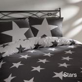 Day Dream Stars - dekbedovertrek - tweepersoons - 200 x 200/220 - Grijs