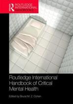 Routledge International Handbook of Critical Mental Health