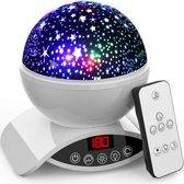 Macx & Macx - Sterrenprojector - Sterrenhemel Projectie - Baby nachtlamp - Kinder lamp - Goedenacht Projector - Wit