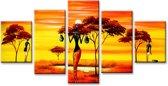 Art4-all - Canvas Schilderij Africa - 160x80cm