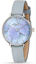 Morellato Ninfa - R0151141504 - horloge - leer - zilverkleurig - 30mm
