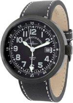 Zeno-Watch Mod. B554Q-GMT-bk-a1 - Horloge