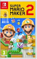 Cover van de game Super Mario Maker 2 - Switch