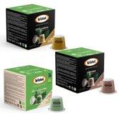 Bristot koffie capsules (Nespesso© Compatible) proefpakket - 4 x 10st