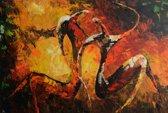 Schilderij artistiek 90x60 Artello - Handgeschilderd