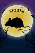 Mouse Notebook Halloween Journal
