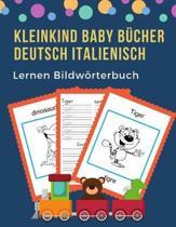 Kleinkind Baby B cher Deutsch Italienisch Lernen Bildw rterbuch