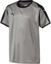 Puma Liga  Sportshirt - Maat 164  - Unisex - grijs/zwart