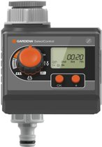 GARDENA Besproeiingcomputer SelectControl - 3 besproeiingen per dag - 1min tot 2u 59min.