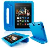 kids-proof iPad 2/3/4  hoes BLAUW - ABC-LED huismerk