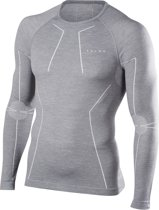 FALKE Wool Tech Longsleeved Shirt Heren 33411 - L - Grijs