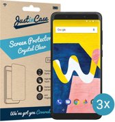Just in Case Screen Protector Wiko View Lite - Crystal Clear - 3 stuks