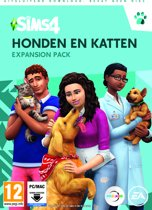De Sims 4: Honden en Katten - Expansion Pack - Windows + MAC - Code in box