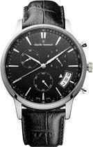 Claude bernard classic chronograph 01002 3 NIN Mannen Quartz horloge