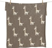 QUAX TRICOT - DEKENTJE - ON THE GO XL - GIRAFFE