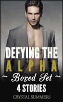 Defying The Alpha (Gay Werewolf Romance 4-Pack Boxed Set)