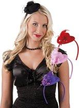 24 stuks: Tiara Pearlette in 4 kleuren - assorti